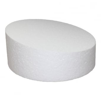 12 Inch Round 4 Inch Deep Wonky Professional Cake Dummy