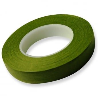 12mm x 27m Light Green Hamilworth Florist Tape