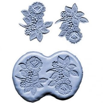 3 Inch Flower Spray Silicone Mould By CK Products