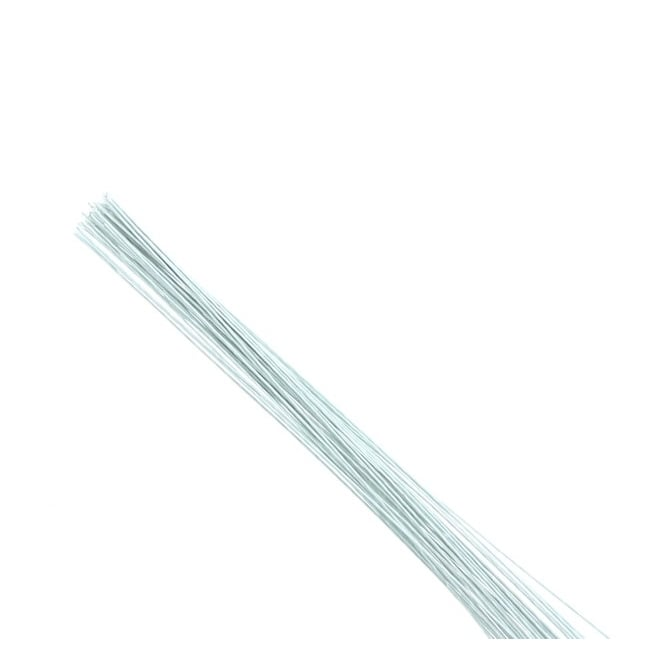 Hamilworth 32 Gauge White Florist Wires x 50 By