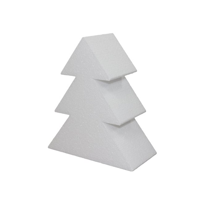 The Cake Decorating Co. 8 Inch Christmas Tree Cake Dummy