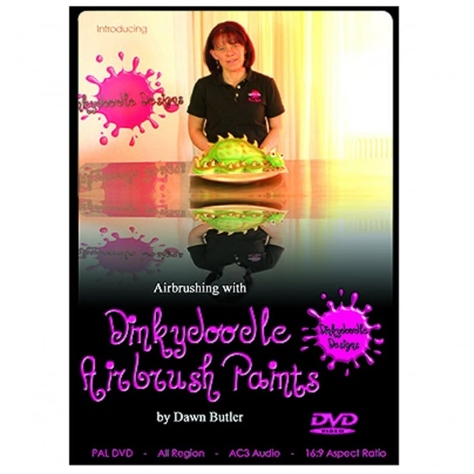 Dinkydoodle Airbrushing With Airbrush Paints By Dawn Butler DVD