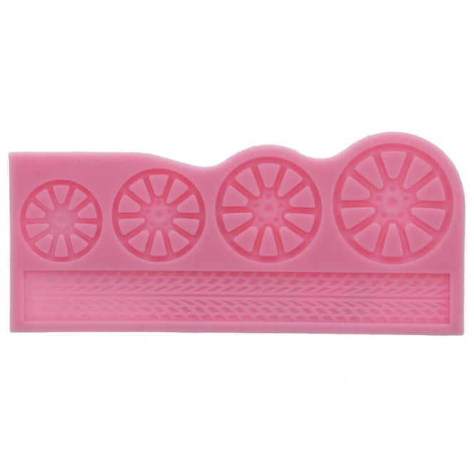Zee Chik Designs  Alloy Wheel Silicone Mould By Zee Chik Designs