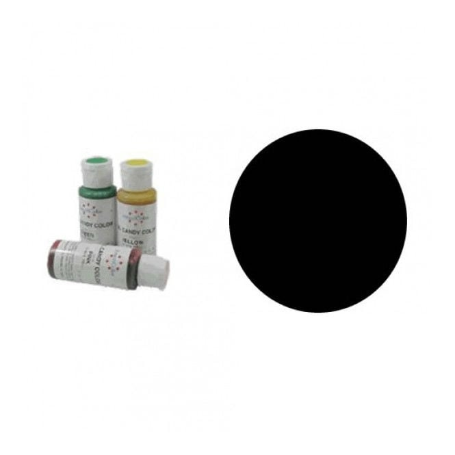 Americolor Black - Candy Colour 2oz - Craft Uses Only