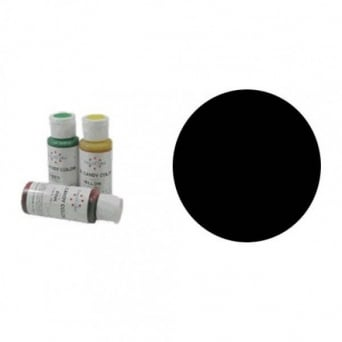 Black - Candy Colour 2oz - Craft Uses Only