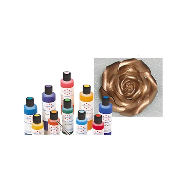Americolor Bronze Sheen - Amerimist Airbrush Colour 4.5oz - Craft Uses Only