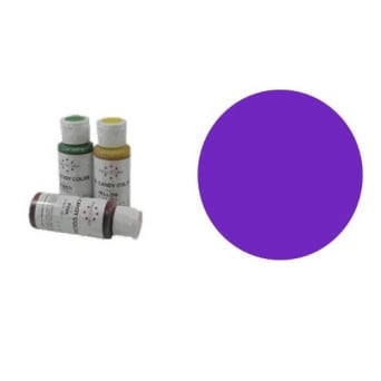 Americolor Candy Colour VIOLET 2 OZ - Craft Uses Only
