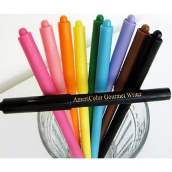 Gourmet Food Writer Decorating Pens By Americolor (10 Colour set)