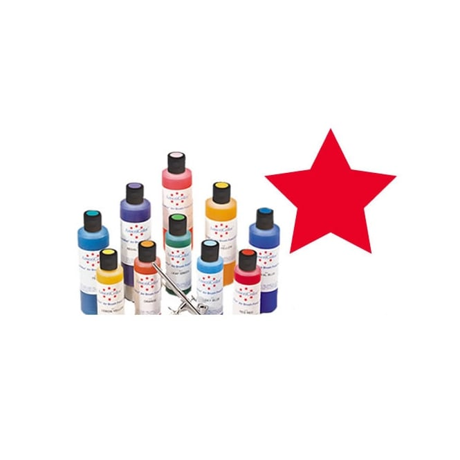 Americolor Red Red - Amerimist Airbrush Colour 4.5oz - Craft Uses Only