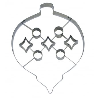 Bauble With Punch-Out Cookie Cutter
