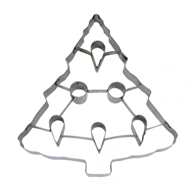 Anniversary House Christmas Tree With Punch-Out Cookie Cutter