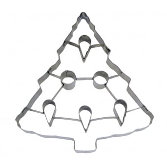 Christmas Tree With Punch-Out Cookie Cutter