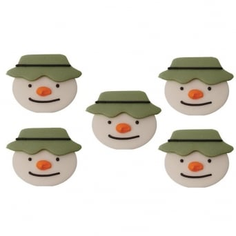 The Snowman Sugar Toppers x 5