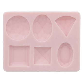 Assorted Diamonds Mould By Sunflower Sugar Art