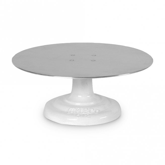revolving cake stand ateco revolving cake stand turntable with non slip mat 7084