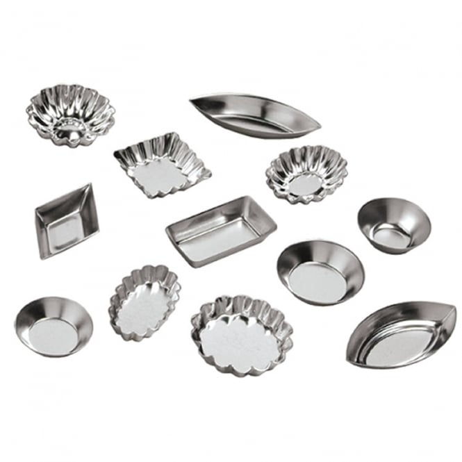Ateco Tartlet Mould Set 72pce