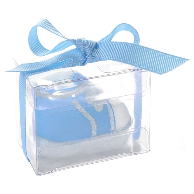 Baby Boy Christening Candle Set x 3