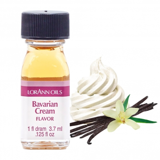 LorAnn Bavarian Cream (Vanilla) - Oils - 1 Dram Food Flavouring Oils