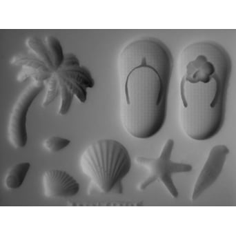 Beach Collection Mould By Petal Craft