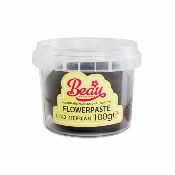 Chocolate Brown - Flower Paste 100g