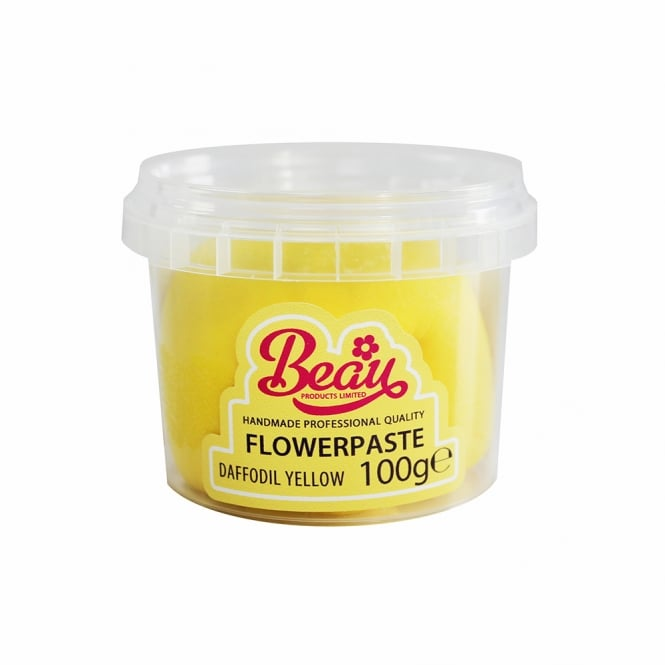 Beau Products Daffodil Yellow - Flower Paste 100g