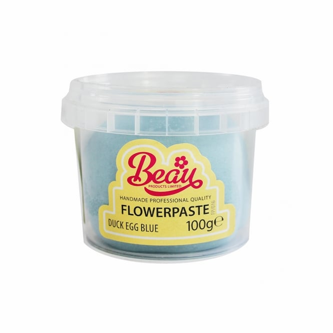 Beau Products Duck Egg Blue - Flower Paste 100g