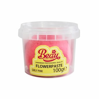 Girly Pink - Flower Paste 100g