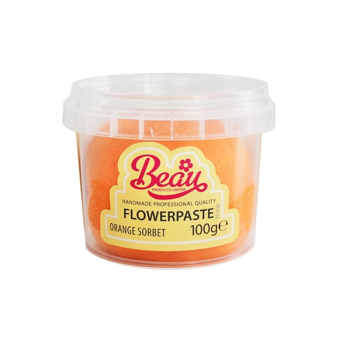 Beau Products Orange Sorbet - Flower Paste 100g