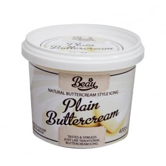 Plain - Buttercream 400g
