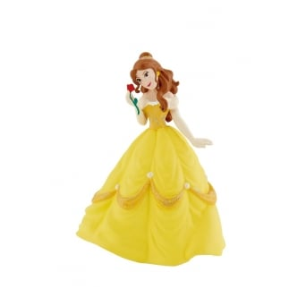 Belle With Rose - Beauty And The Beast Disney Cake Figure