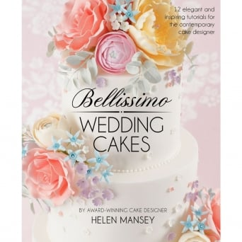 Bellissimo Wedding Cakes Book By Helen Mansey