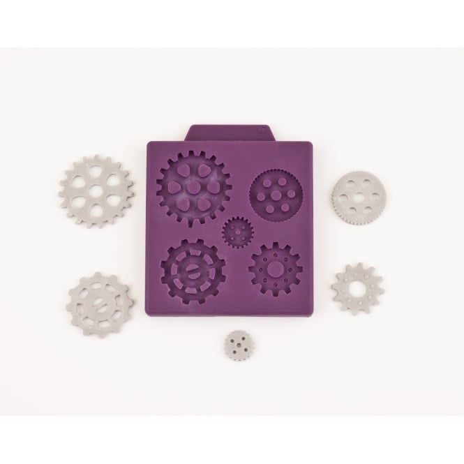 Black Cherry Cake Company Steampunk Gear Mould