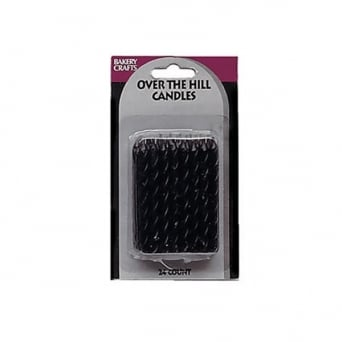 Black Over The Hill Candles 24pk