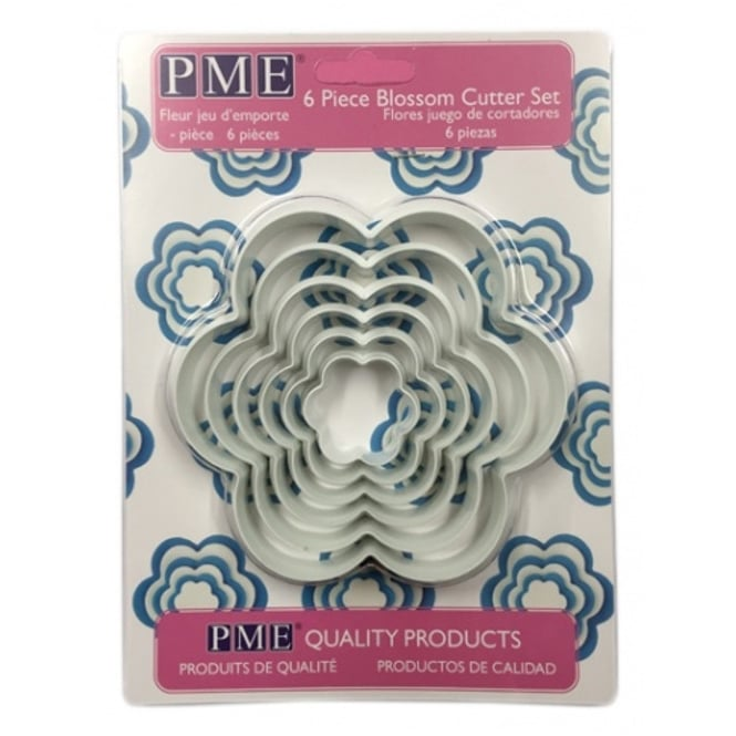 PME Blossom Cutter Set Of 6