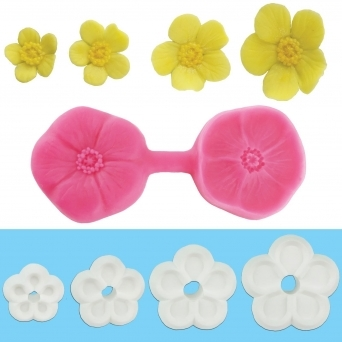 Buttercup Multi Cutter And Veiner Set