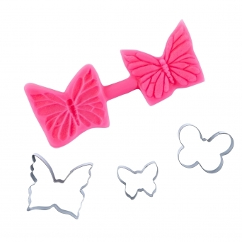 Butterfly Multi Cutter And Veiner Set