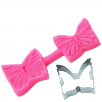 Elegant Butterflies Cutter And Mould
