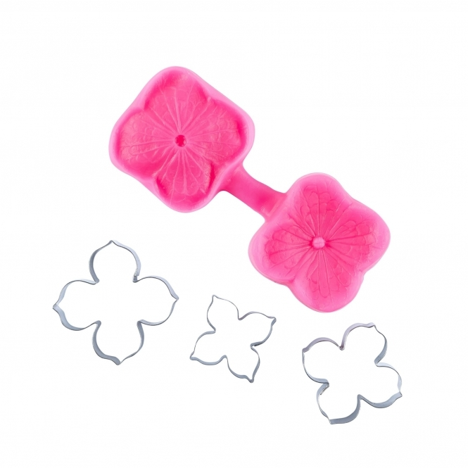 Blossom Sugar Art Hydrangea Multi Cutter And Veiner Set