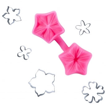 Petunia Multi Cutter And Veiner Set