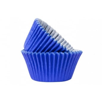 Blue Muffin Cases x 50