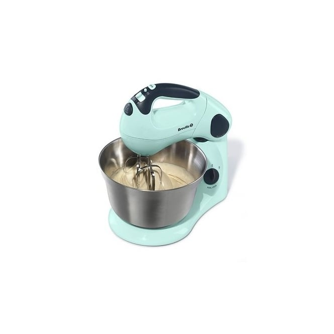 Breville Pistachio Pick And Mix Stand And Hand Mixer VFP061 By