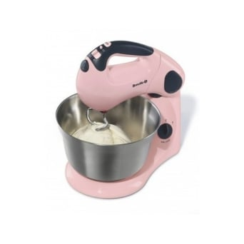 Strawberry Cream Pick And Mix Stand And Hand Mixer VFP058 By Breville