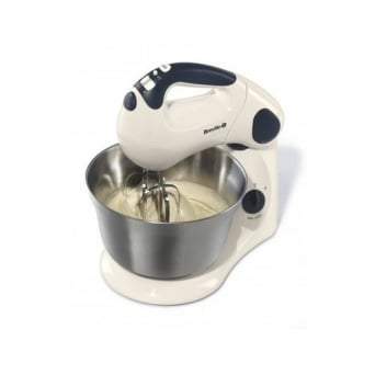 Vanilla Cream Pick And Mix Stand And Hand Mixer VFP059 By Breville