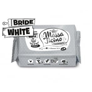 Bride White Icing Fondant - 1KG By Massa Ticino Sugarpaste