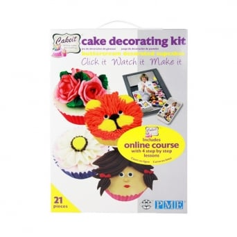 Buttercream Decorated Cupcakes Course Kit By PME