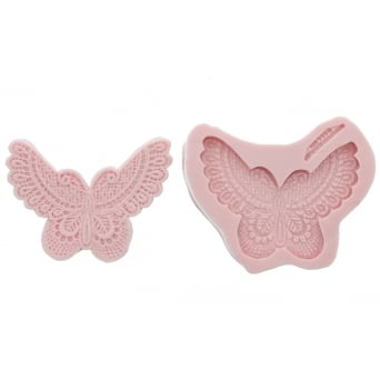 Butterfly Lace Mould By Sunflower Sugar Art