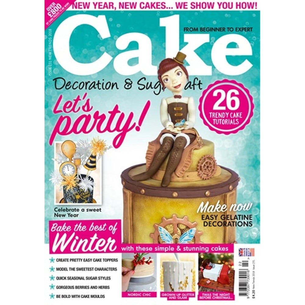 Cake Decoration And Sugarcraft Magazine