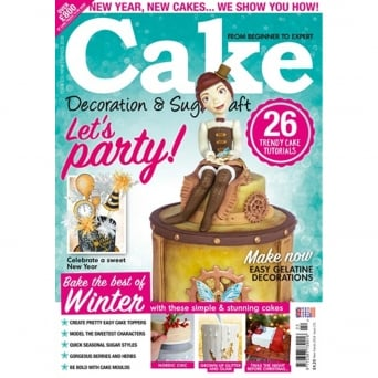 Cake Decoration And Sugarcraft Magazine Issue 231 - New Trends 2018
