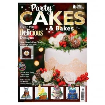 Party Cakes And Bakes Cake Craft Guide Issue 33