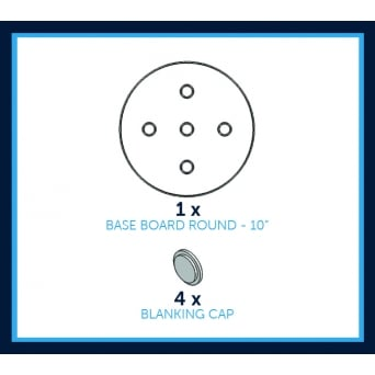 10 Inch Round Base Board Pack
